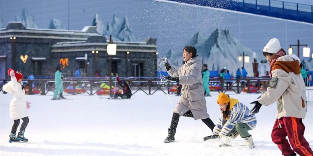 【平日·融创雪世界】我在重庆遇见雪!【重庆融创雪世界娱雪2小时票】只88元享门市价98元娱雪套餐!全天候的冰雪乐园!即刻玩转!
