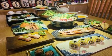 【高新三路】精彩生活,从美好の日料开始!99元享门市价542元『青都里日料2-3人餐』!前菜四品+沙拉+刺身盛合+寿司+烤物+锅物…治愈味蕾!分分钟被鲜美滋味俘获~