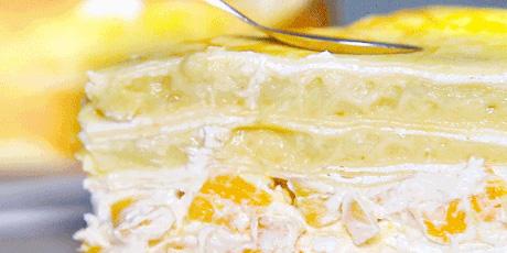 【全上海冷链配送】【多咪啦千层蛋糕】【仅49.9元享门市价148元的6寸】多咪啦千层蛋糕!榴莲\芒果\榴芒双拼\彩虹4种口味任选